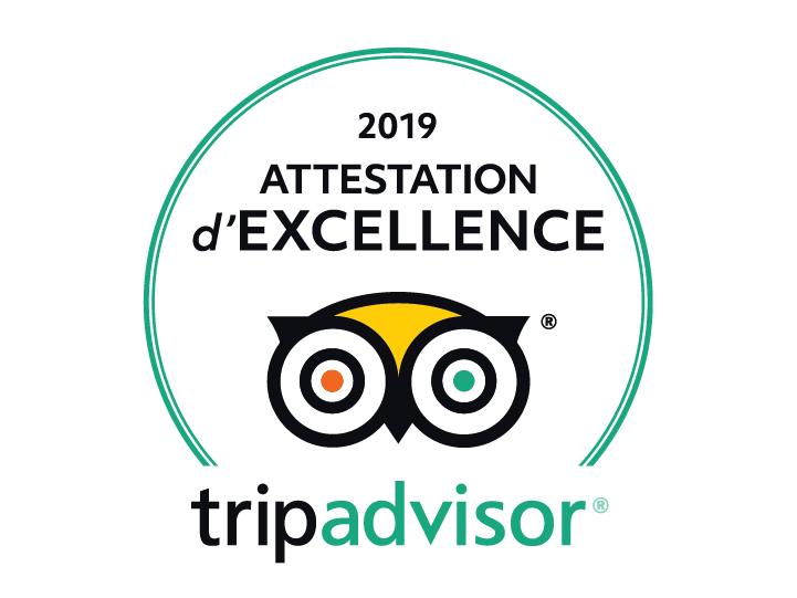 logo TripAdvisor Attestation d'excellence 2019