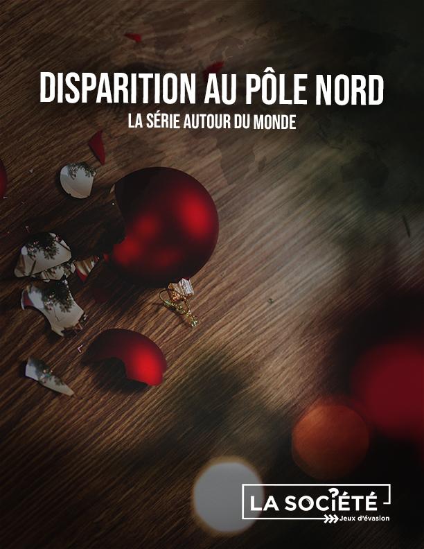 Couverture du jeu disparition au pôle nord