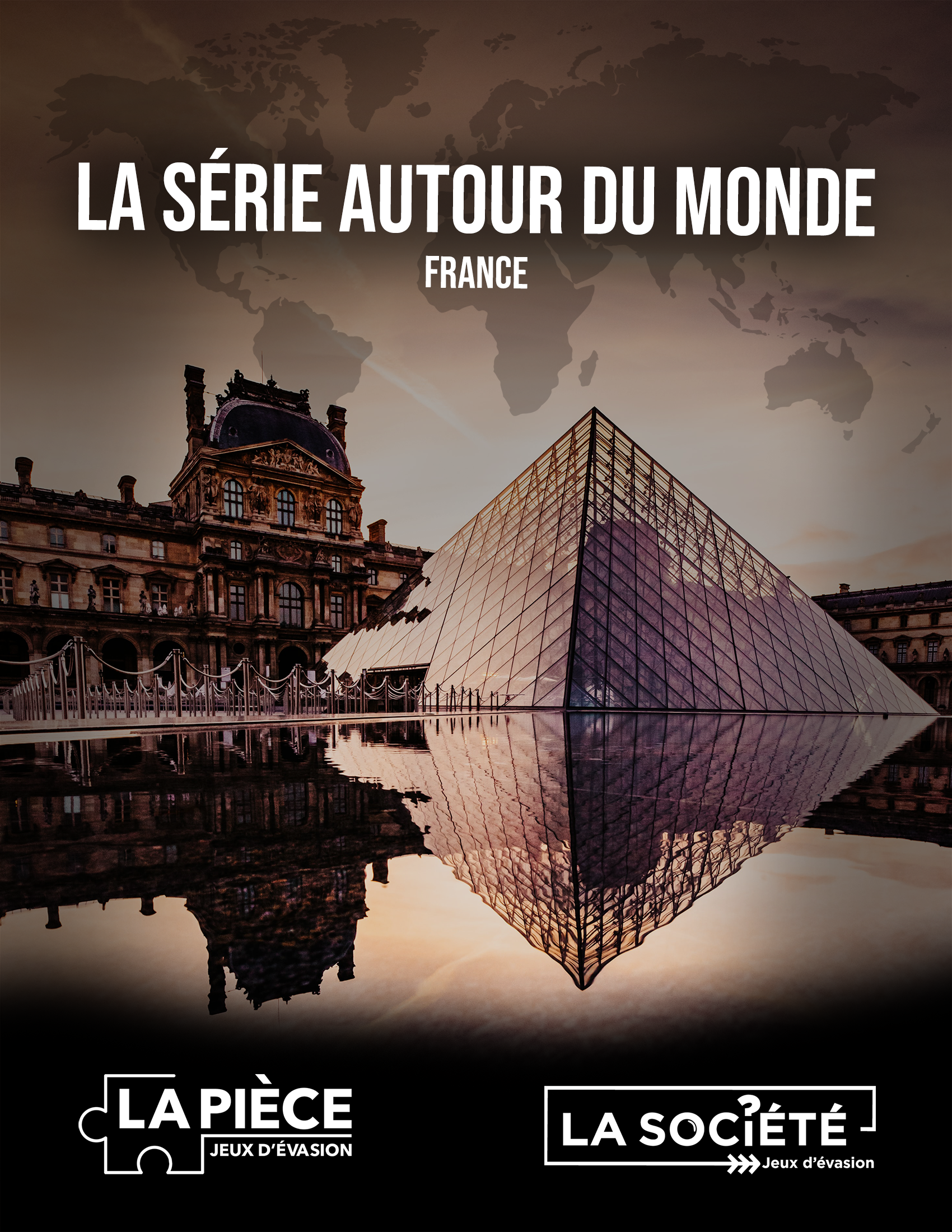 Image de couverture du jeu La France - Photo du Louvre