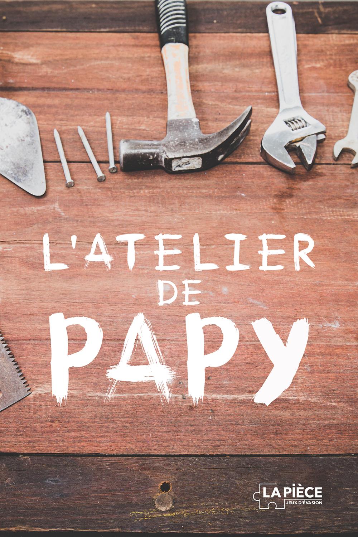 Affiche l'atelier de Papy